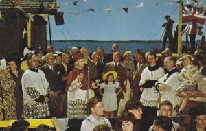 Blessing of the Fleet , CARAQUET , New Brunswick , Canada , 50-60s