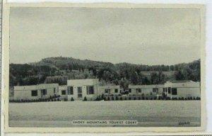 1950s Smoky Mountains Tourist Court Motel Postcard Route 71 Knoxville TN