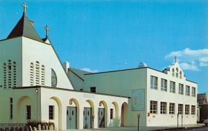 Spring Valley New York~Church And School Of St Joseph~1960s Postcard
