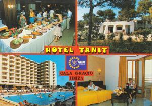 Hotel Tanit Cala Gracio San Antonio Abad Ibiza Spain
