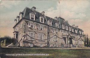 Canada New Brunswick Fredericton University Of New Brunswick 1907