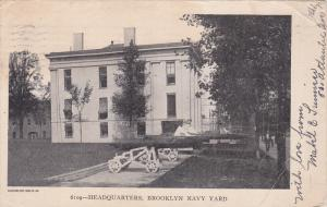 Headquarters, Brooklyn Navy Yard, New York, PU-1908