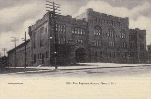 NEWARK, New Jersey; First Regiment Armory, 00-10s