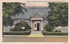 Arkell Memorial Library and Art Gallery, Canajoharie, New York, PU-1939