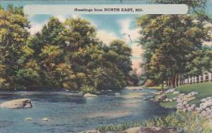 Greetings From North East Maryland Missouri 1952
