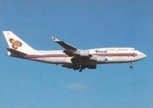 Thai Boeing 747 4D7 Hs TGT cn 26616