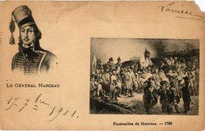 CPA Militaire, Funerailles de Marceau (278069)