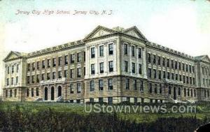 High School Jersey City NJ Postal used unknown