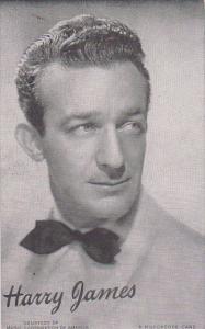 Vintage Mutoscope Card Harry James