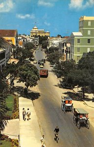 Nassau in the Bahamas Post card Old Vintage Antique Postcard Famous Bay Stree...