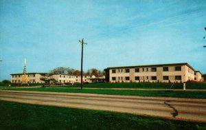 Wilmington Delaware Lord De La Warr Hotel Vintage Postcard