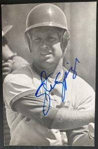 Mint USA Real Picture Postcard Baseball Player Steve Springer Signed
