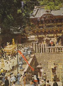 Japan Nikko Grand Festival Of Toshogu Shrine