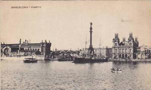 Boats, Puerto, Barcelona (Catalonia), Spain, 1900-1910s