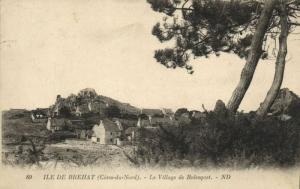 CPA Ile de BRÉHAT - Le Village de Rolesquet (104306)