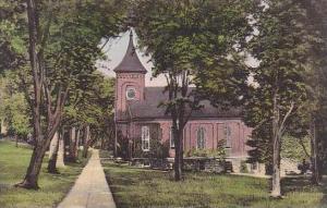 Virginia Lexington Campus Showing Lee Memorial Chapel Washington And Lee Univ...
