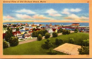 Maine Old Orchard Beach General View