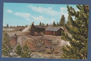 Tabor's Matchless Mine Postcard Leadville, Colorado Baby Doe Cabin