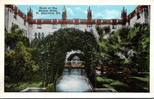 Florida St Augustine Hotel Alcazar Court 1920