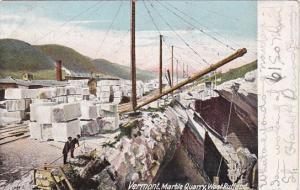 Marble Quarry West Rutland Vermont 1907