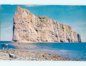 Pre-1980 TOWN VIEW SCENE Perce - Gaspe Peninsula Quebec QC p9920
