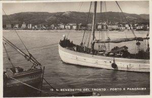RP: SAN BENEDETTO DEL TRONTO , Italy , 1946 ; Porto E Panorama