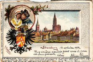 CPA  Strasbourg - Strassburg - Vue - Scene  (387089)
