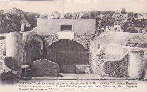 Tunisia Carthage Le cirque ou furent martyrisees