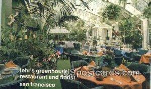 Lehr's Greenhouse Restaurant & Floriset - San Francisco, CA