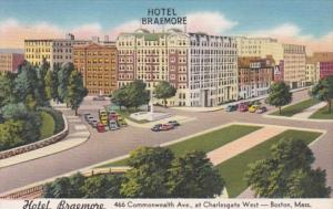 Massachusetts Boston Hotel Braemore