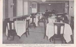 WASHINGTON D. C., 1910s ; George Washington Inn Dining Room