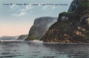 Lower St. Lawrence River, Canada, Capes Trinity and Eternity, Saguenay, Quebe...
