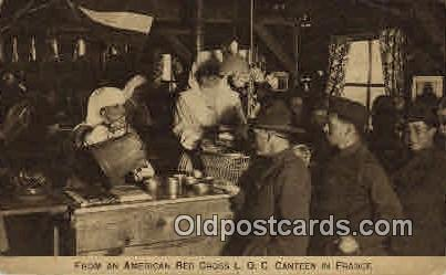 From an American Red Cross L.O.C. Canteen In France Red Cross Postcard Postca...