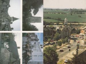 Tranquility Waterways Of Northampton George Wilde Poem Boat Postcard