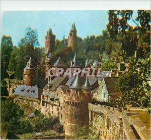 Modern Postcard Fougeres (Ille et Vilaine) Colors and Light of France Vue Gen...