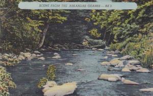 Scene From The Akansas Ozarks Arkansas