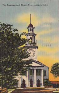 The Congregational Church Kennebunkport Maine 1943