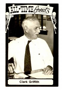 Clark Griffith, Baseball Hall of Fame
