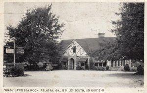 ATLANTIC, Georgia, PU-1941; Shady Lawn Tea Room