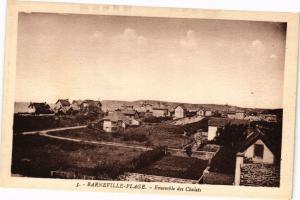 CPA BARNEVILLE-Plage - Ensemble des Chalets (149199)