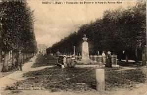 CPA Eure BRETEUIL Promenades des Plesses (982164)