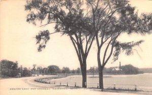 Kenoza Lake & Highway Haverhill, Massachusetts Postcard