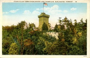 VT - Burlington. Ethan Allen Tower