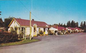 Exterior,  Rose Garden Motel,  Trans-Canada, Hwy.,  Aldergrove,  B.C.,  Canad...