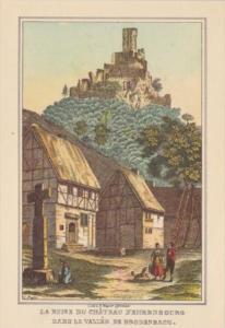Germany Die Mosel Von Metz Bis Koblenz La Ruine Du Chateau D'Ehrenbourg