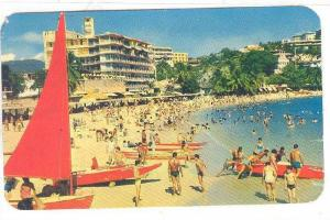Caleta Beach With The Hotel La Playa In The Background, Mexico, PU-1970