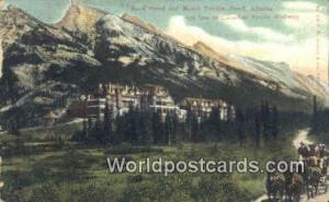 Canada Banff Banff Hotel & Mount Rundi