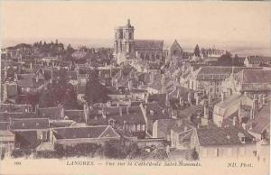 France Langres Vue sur la Cathedrale Saint-Mammes