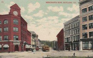 RUTLAND , Vermont , 1909 ;Merchant's Row
