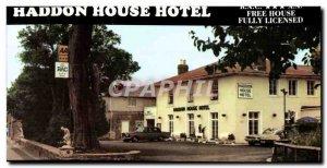 Postcard Modern Haddon House Hotel in Bridport Dorset